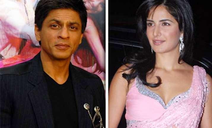 srk set to romance katrina in yash chopra s film