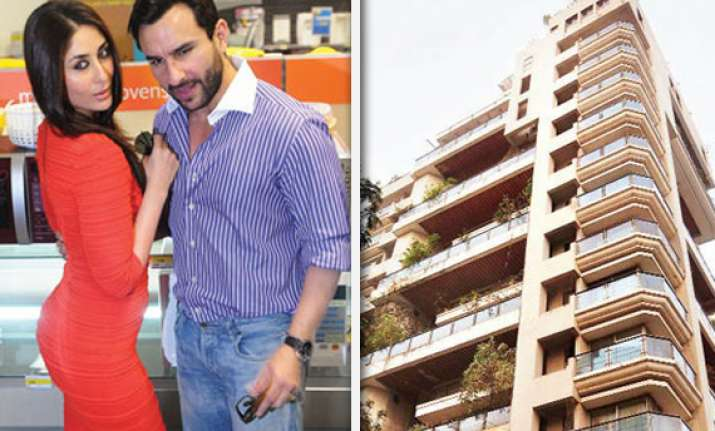 saif buys a swanky duplex kareena to move in after marriage