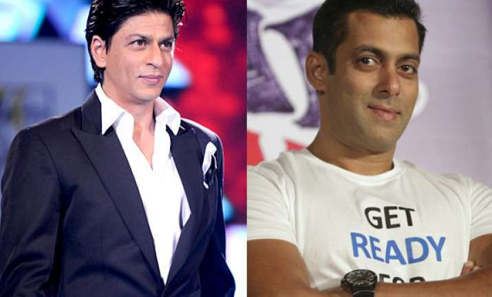 salman asks yrf to pay a rupee more than shah rukh s fee