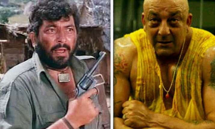 sanjay s role in agneepath is like that of gabbar mogambo