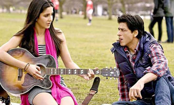 shah rukh khan katrina s silsila in london parks