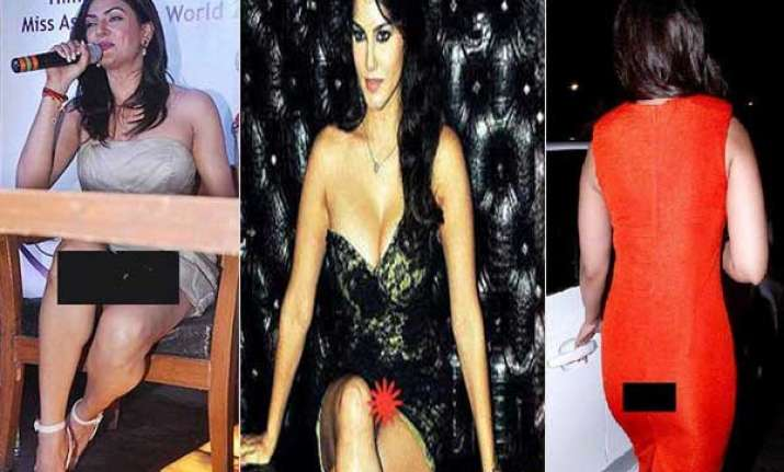six bollywood beauties who faced wardrobe malfunctions in