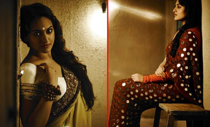sonakshi sinha does a beautiful photoshoot for notch mag