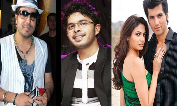 sreesanth separates singer mika actor sunny gill from