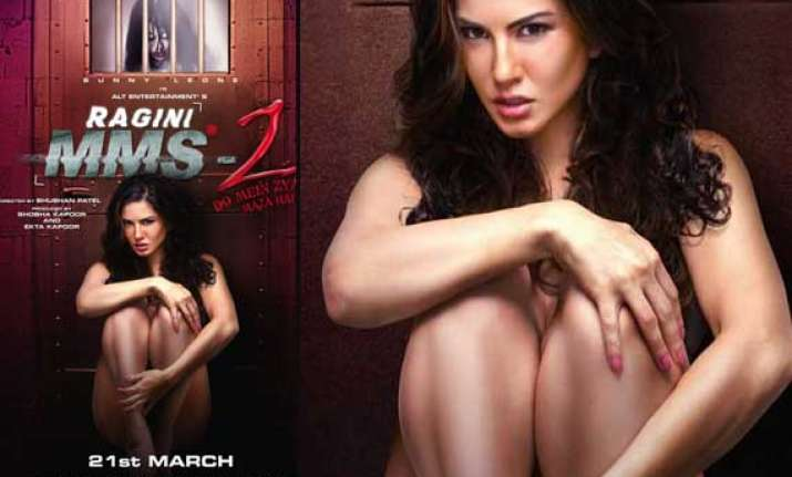 sunny leone s new hot poster out in ragini mms 2 view pics