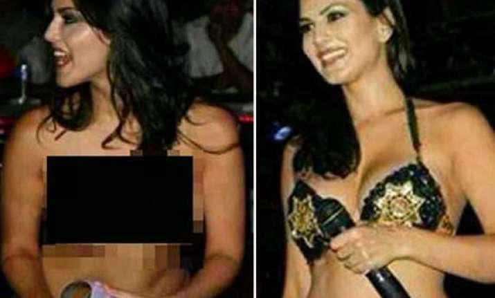 bollywood hottie sunny leone s nude pics go viral actress