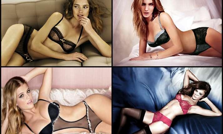 super sexy lingerie models