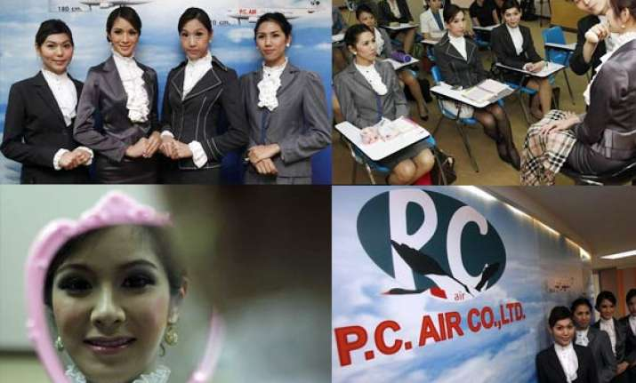 thai airline inducts transsexuals as flight attendants