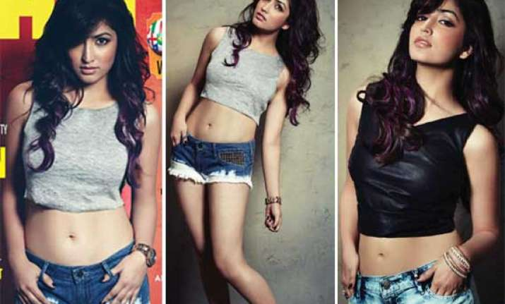 yami gautam sheds her cute image poses sensuously for fhm