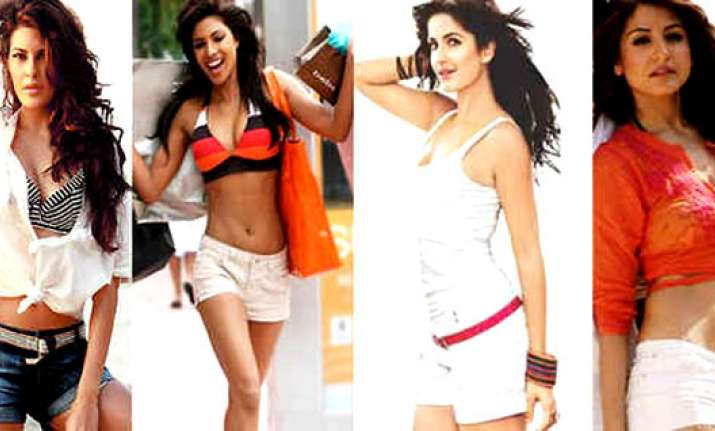 bollywood babes in hot pants