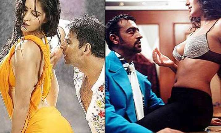 Katrina Kaif S Most Intimate Scenes In Bollywood Films See