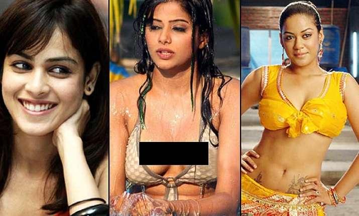 from nagma shriya to hansika south indian hotties who got