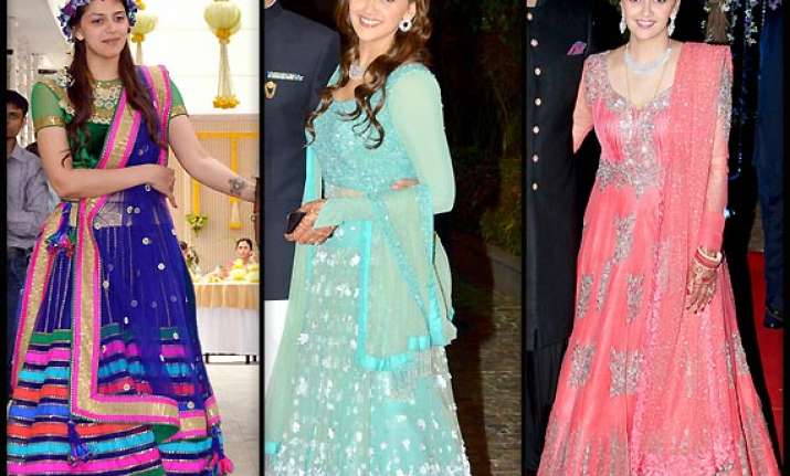 ahana deol seizes attention with unusual ensembles at her