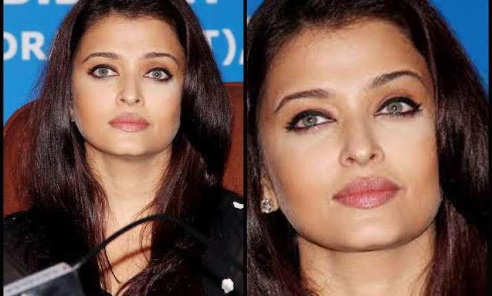 omg even aishwarya rai bachchan can go wrong with her make