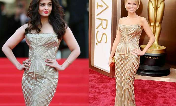 omg aishwarya rai s cannes 2014 look is a copy of kristin