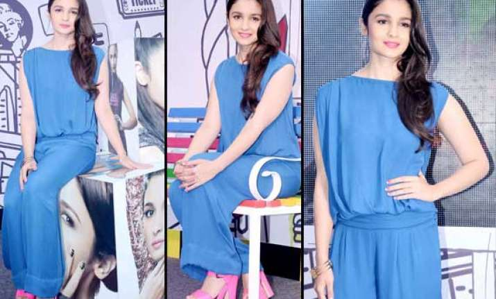 alia bhatt spotted at the launch of new range of nail