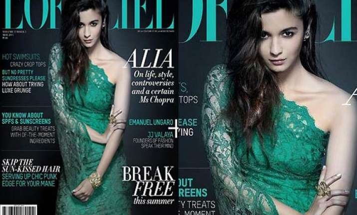 alia bhatt raises the temp high on l officiel cover see pics