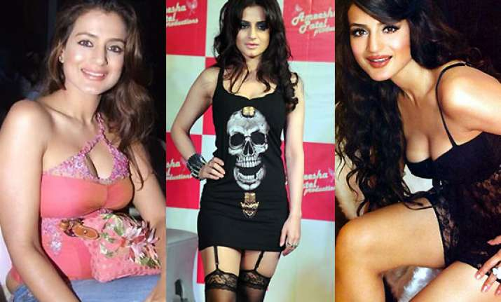 ameesha patel birthday special queen of fashion disasters