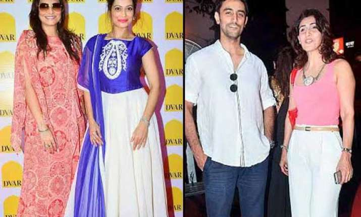 b town adds glamour to fashion store launch