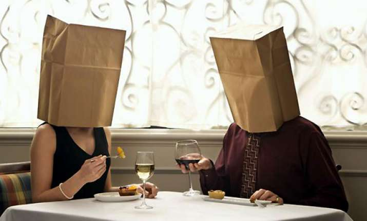 be wary on a blind date