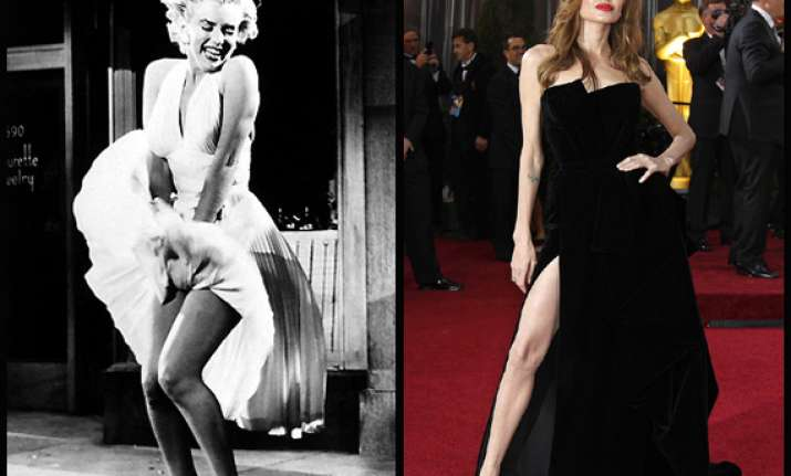 beauty personified angelina jolie vs marilyn monroe view