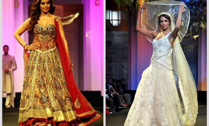 bollywood s runway brides