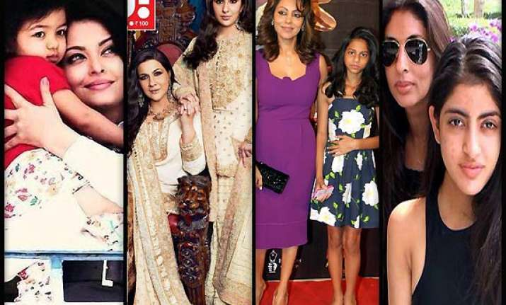 celeb mother daughter duo who share equal global