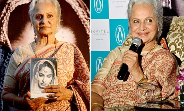 conversations with waheeda rehman book review the endearing