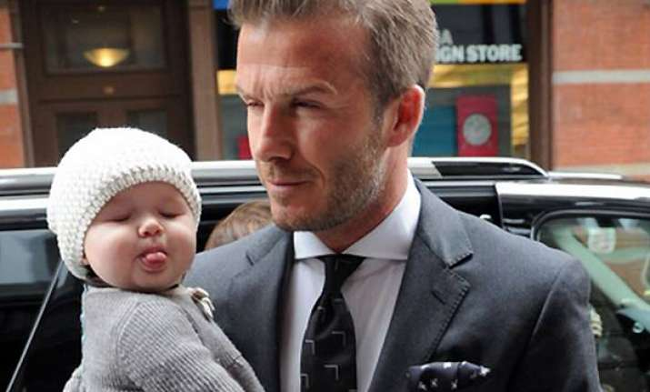 who is david beckham giving styling tips to