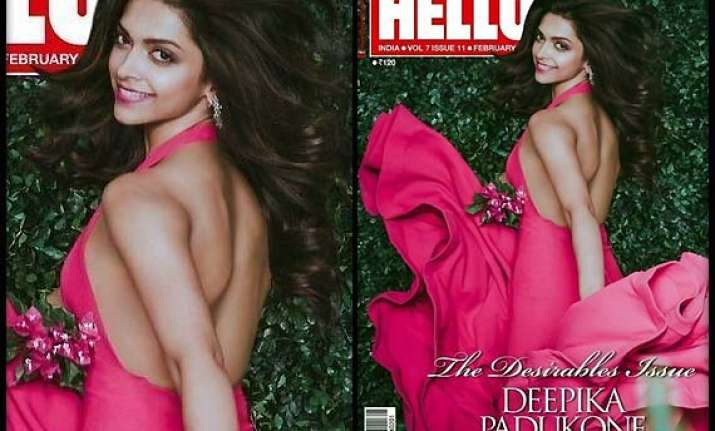 deepika pose sensuously for hello cover
