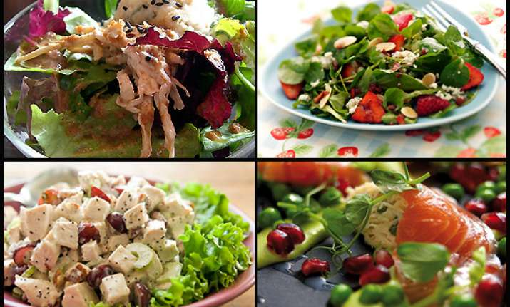 delicious and nutritious salads