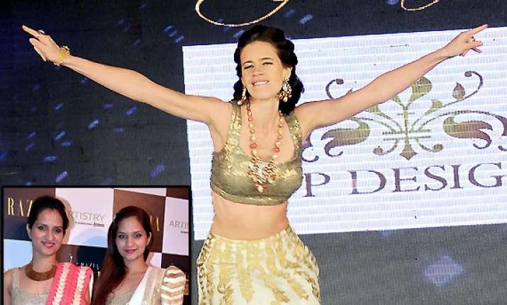 designer duo riddhi and siddhi mapxenca call kalki koechlin