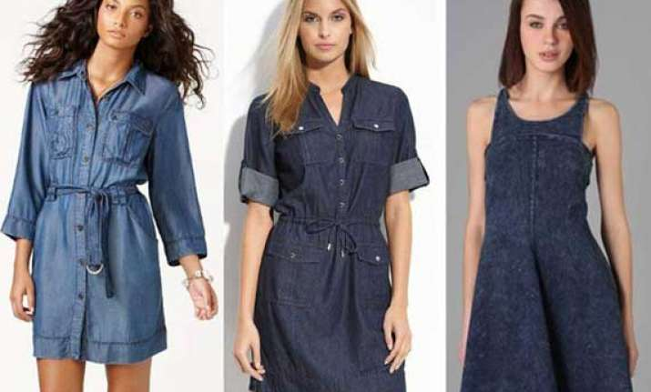 don denim dresses look chic this summer