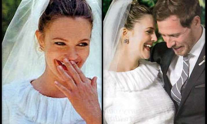 drew barrymore doles out wedding makeup tips view pics