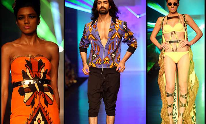 excited about exotic resort wear for men at lfw pria