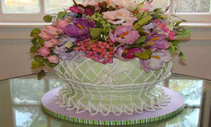 flower cakes a big hit in china
