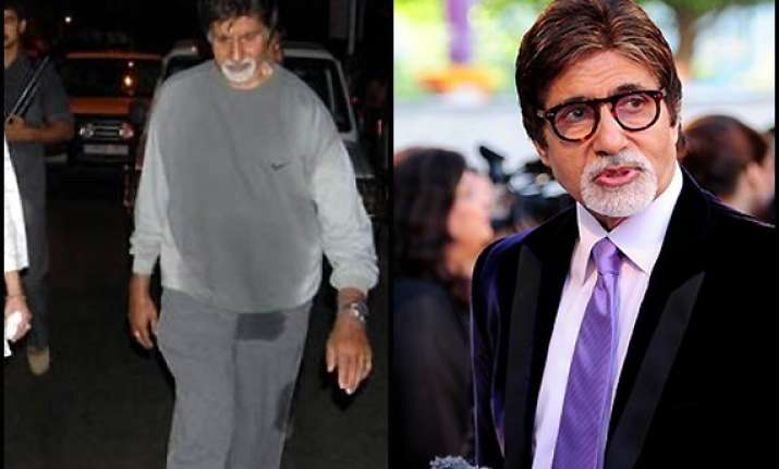 gym crazy amitabh bachchan workouts everyday view pics
