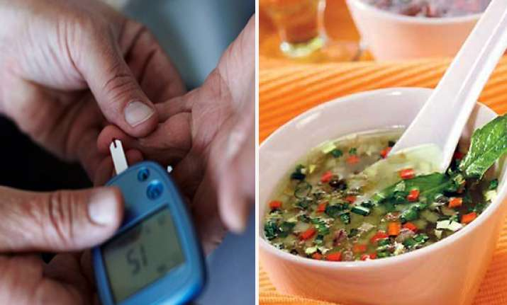 try these healthy soups to tackle diabetes