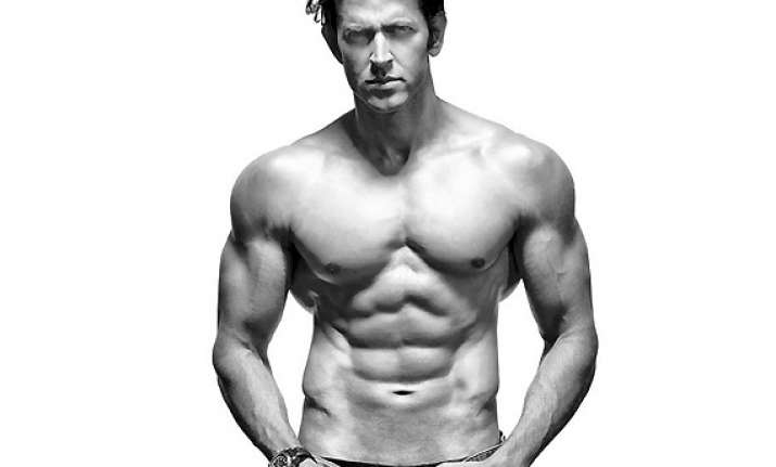 six pack doesn t signify health hrithik see pics