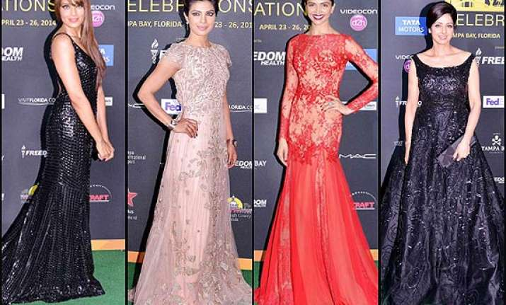 iifa 2014 priyanka deepika kareena look fabulous on the