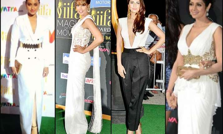 iifa 2014 white and gold ruled this year see pics