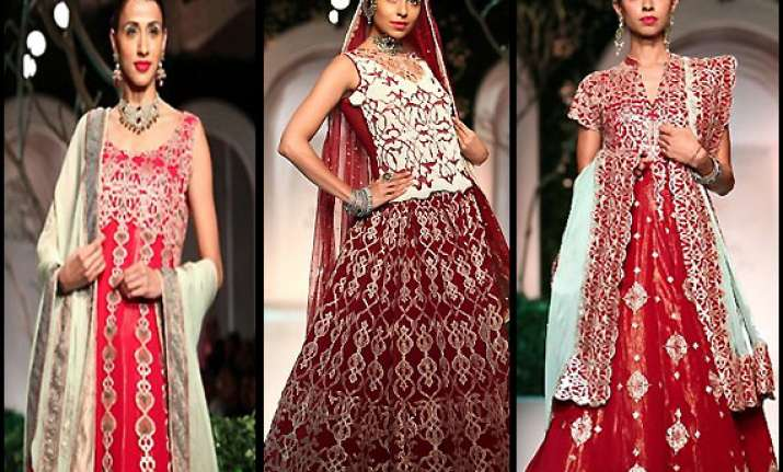 india bridal fashion week 2013 muzzafar ali set the stage