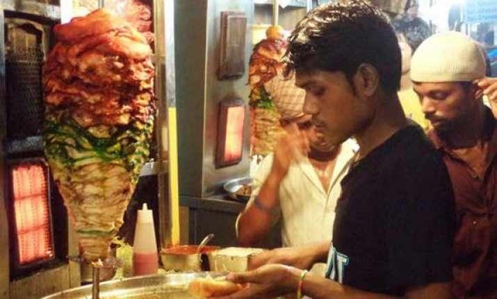shawarma a fast selling arabic fast food in hyderabad