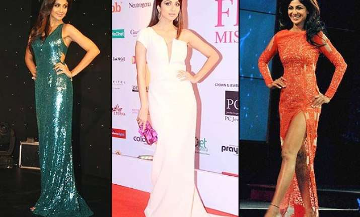 shilpa shetty the goddess of perfectly cut figure