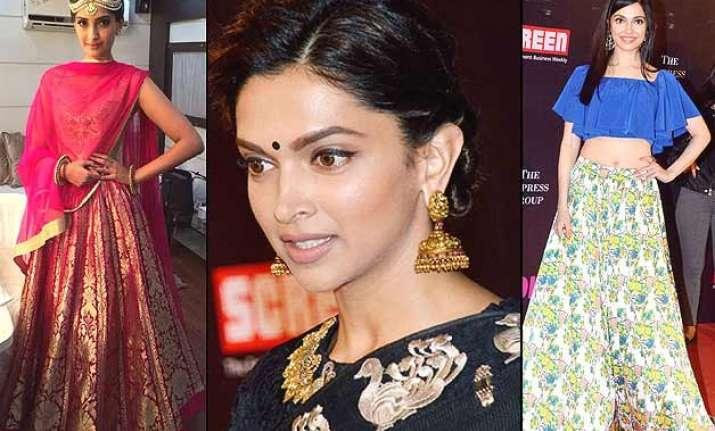 life ok screen awards 2015 deepika priyanka sonam make