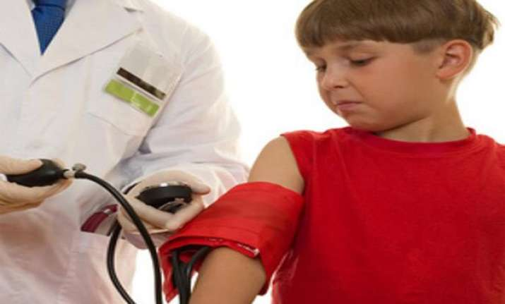 troubled childhood ups blood pressure risk
