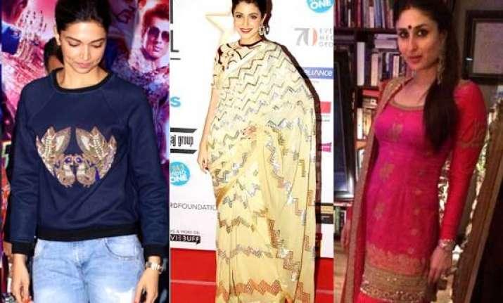 deepika anushka or kareena know who rocked the fashion this