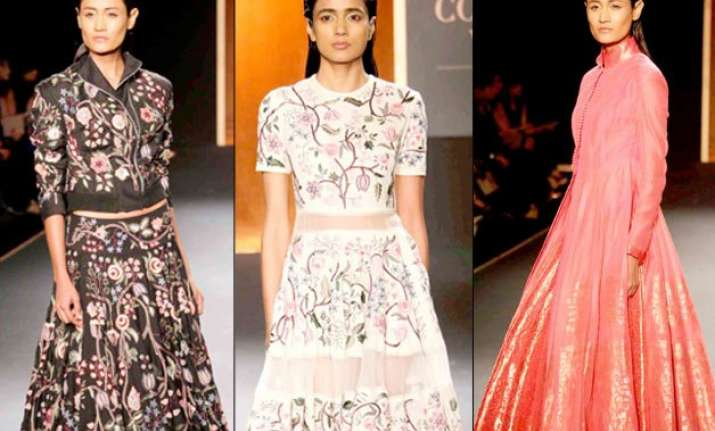 rahul mishra s collection wows fashionistas at aicw