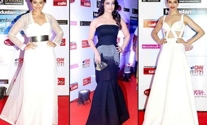 gorgeous aishwarya rai bachchan maintains an all black