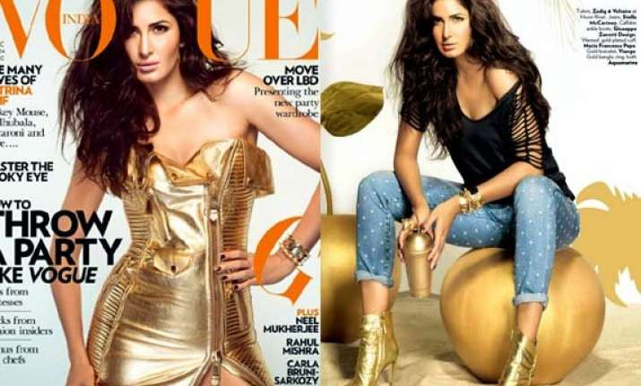 golden glory katrina kaif looks sensuous on vogue december